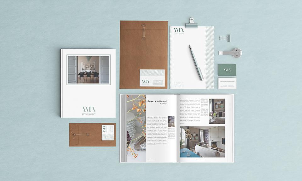 Embossed cotton paper business cards « Chiara Ferrario