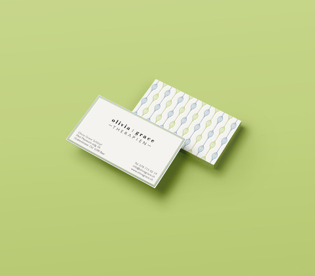 Medical Massage Therapist business cards « Chiara Ferrario